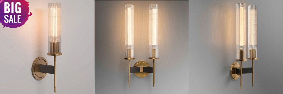 copper wall sconce (2)