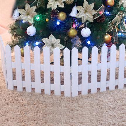 vallas de madera de alta calidad cm blanco para la navidad rbol grande