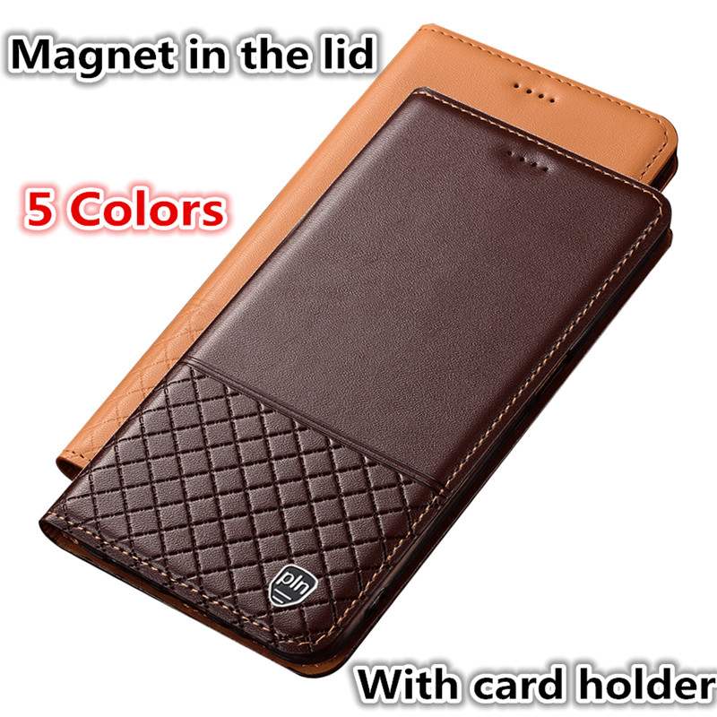 ZD11 Genuine Leather Phone <font><b>Case</b></font> With Card Holder For <font><b>Philips</b></font> <font><b>X818</b></font> <font><b>Case</b></font> For <font><b>Philips</b></font> <font><b>X818</b></font> Phone Bag Free Shipping image