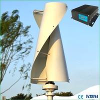 Made in China 400w wind generator 12v24v48v vertical wind turbine generator with meglev generator and MPPT controller