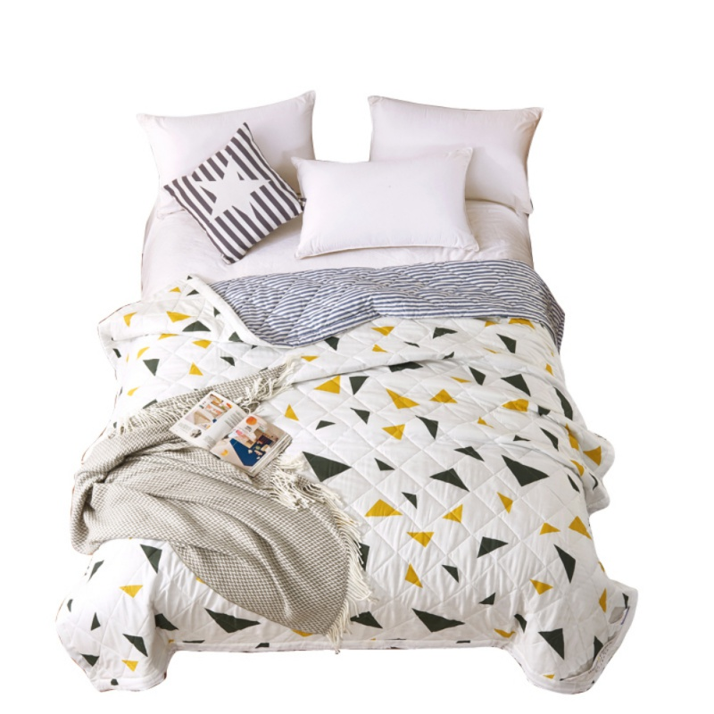 Lowered Duvets Cartoon Cactus Printed Quilt Comforter Twin For Kids
