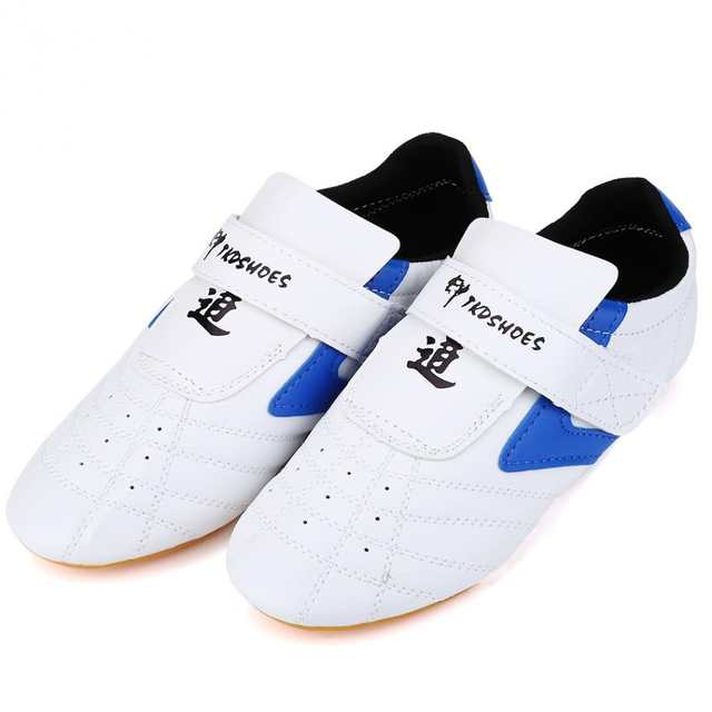 b5187768db7f0b Online Shop Taekwondo Shoes Martial Arts Kung Fu Wushu Taichi Karate  Wrestling Boxing White Shoes Men Women Kids Trainning Sneakers Footwear