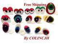 100pairs/Lot Mix Eyes Free Ship Cartoon Craft Eyes For Doll Come With Washers