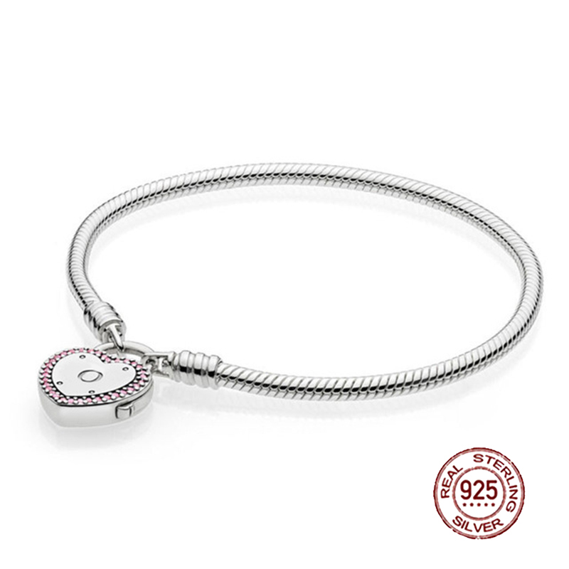 NEW 2018 Valentines Day Newest 100% 925 Sterling Silver Bracelet Heart shaped Charm Bead for Women of Fashion DIY BangleNEW 2018 Valentines Day Newest 100% 925 Sterling Silver Bracelet Heart shaped Charm Bead for Women of Fashion DIY Bangle