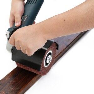 Image 3 - Meuleuse dangle électrique multifonctionnelle, polisseuse, accessoires de fixation, ponceuse métal, acier et bois