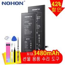 מקורי NOHON עבור iPhone 6 S 6 בתוספת 6 S בתוספת 7 בתוספת 8 בתוספת סוללה אמיתי קיבולת גבוהה החלפה סוללות טלפון נייד Bateria