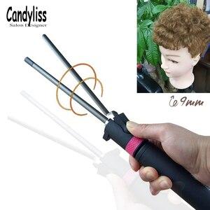 Image 2 - 2020 חדש מקצועי קרלינג ברזל יוניסקס מתולתל שיער קרלינג שרביט עמוק כל תלתל גל מכונת בורג תוף של שיער curler