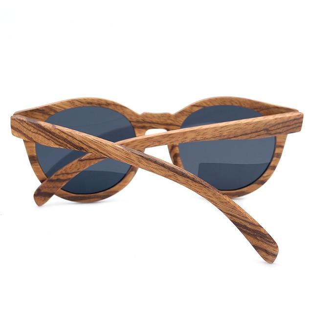 Gafas de sol madera vintage 4