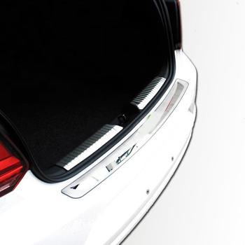 Araba Arka Tampon Pencere Vücut Dış Otomobil Automovil Kapakları Koruyucu Trim 11 12 13 14 15 16 17 18 19 volkswagen Polo IÇIN