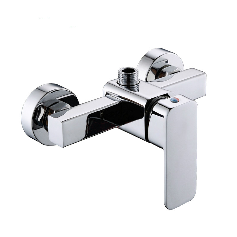 2016 Real Robinet Tap Shower Set Full Copper Bathroom Shower Simple Faucet Hot And Cold Into