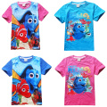 Summer Children's Clothing Baby Boys Girls Short Sleeve T-shirt Finding Dory Movies Printing Kids Clothes T-Shirts Cartoon Tees