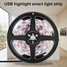 Led Strip 2835 SMD Flexible Light TV Background Desktop Decor Tape DC 5V Fita Led USB Power Strip Lamp For Closet Stairs Cabinet