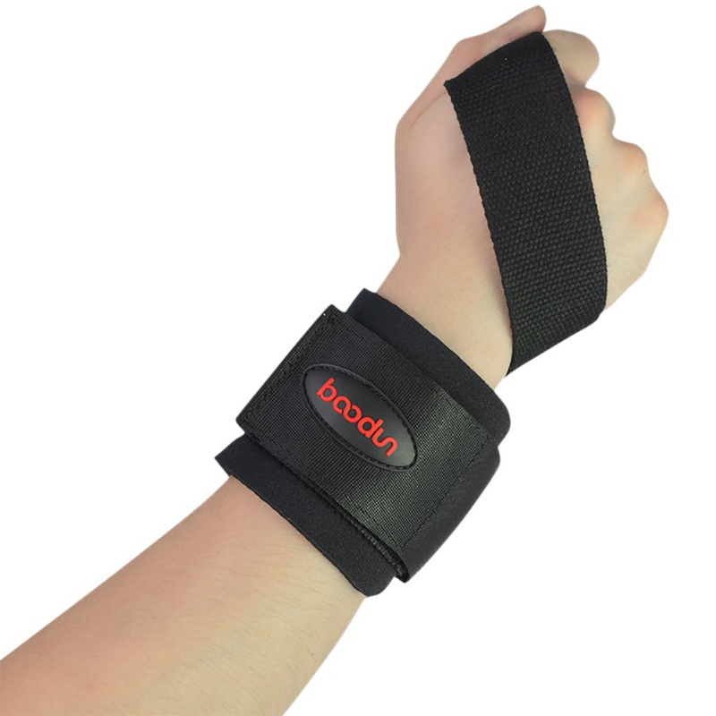 1 Pairs Bracers Strap Sports Braces Gym Dumbbell Barbells Lifting Wrist Support m6