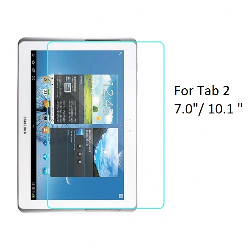 Tempered Glass Screen Protector For <font><b>Samsung</b></font> Galaxy Tab 2 7.0 10.1 inch P3100 P3110 <font><b>P5100</b></font> P5110 image