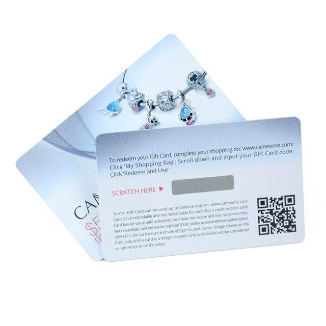 Personalized printable custom plastic pvc scratch panel gift cards personalized printable custom plastic pvc scratch panel gift cards colourmoves