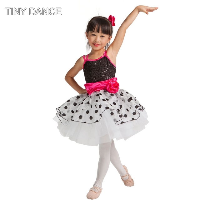 d6513eccf IN STOCK! Kids Show Dance Jazz   Tap Costume Ballet Dance Tutu Dress ...