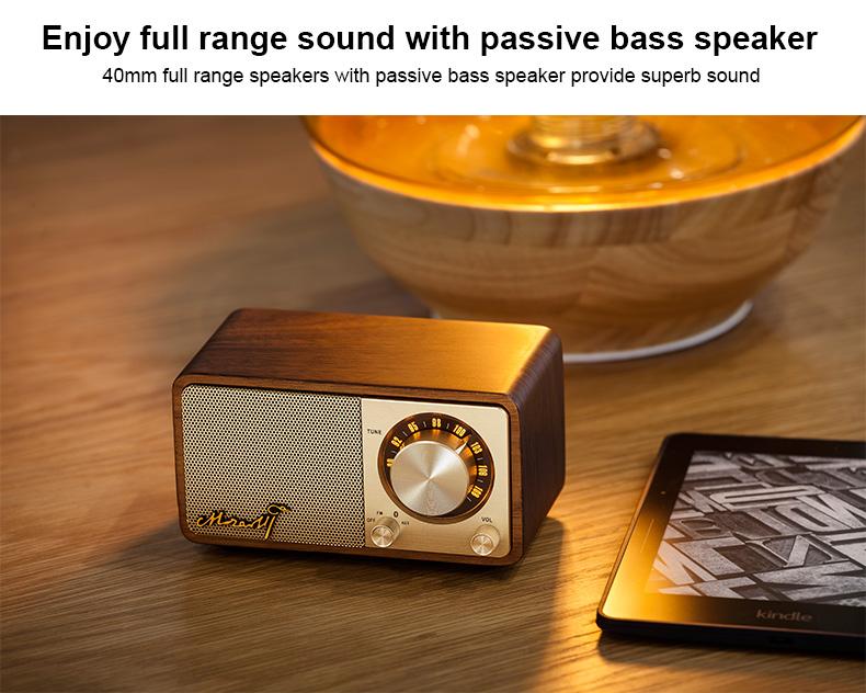 Sangean Mozart portable bluetooth fm radio speaker wireless speaker 4