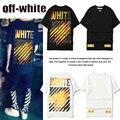 Горячие Продажи Kanye West С Белой Футболки Мужчин Хип-Хоп Brand Clothing Летняя Мода Хлопок O-образным Вырезом С Коротким Рукавом Белого ти-рубашки