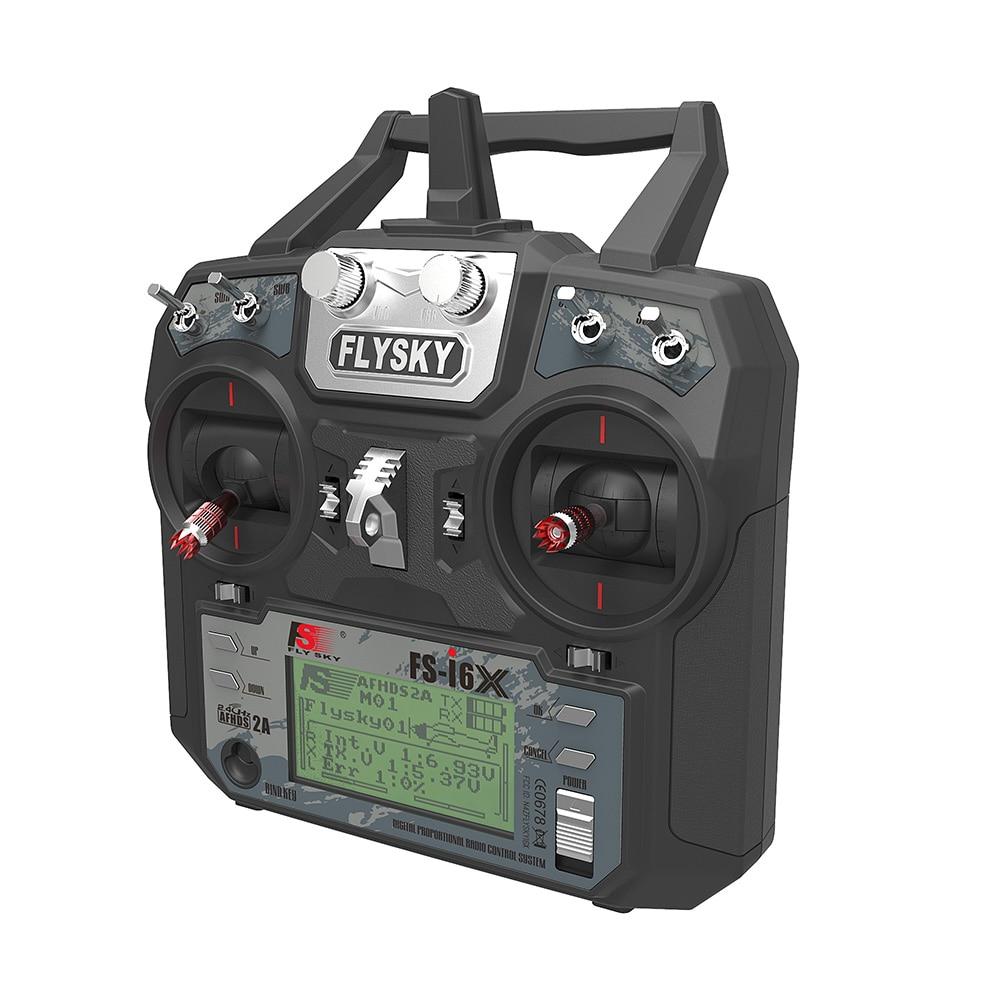 Flysky FS-i6X 2.4GHz 10CH RC Transmitter With FS-iA6B FS-iA10B Receiver Mode 1/2 For RC Quadcopter f09166 10 10pcs cx 20 007 receiver board for cheerson cx 20 cx20 rc quadcopter parts