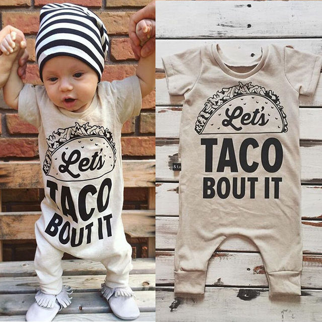Let's Taco Bout It Shortsleaved Jumpsuit 2