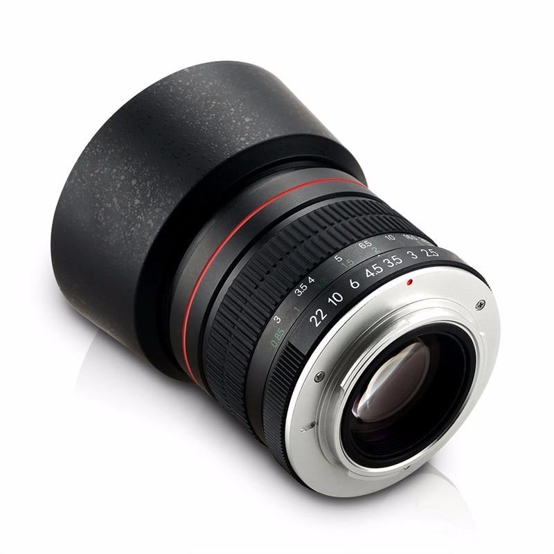 85mm F / 1.8 Canon 1200D 760D 700D 600D 70D 60D 7D 6D 5D II III DSLR - Камера және фотосурет - фото 2