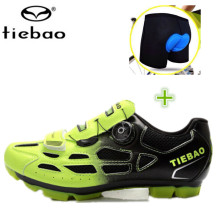 Tiebao bike Shoes add bike underwear 2017 sapatilha ciclismo Mountain bike cycling women sneakers men Breathable Cycling Shoes