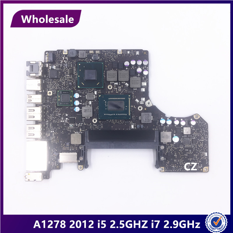 """Wholesale For Macbook Pro 13"""" A1278 2012 Year i5 2.5GHz i7 2.9GHz MD101 MD102 Logic Board laptop Motherboard 661 6588 820 3115 B-in Computer Cables & Connectors from Computer & Office    1"""