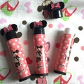 Mini 5g Empty mickey mouse LIP BALM Tubes Containers Lipstick for child six colors Free Shipping