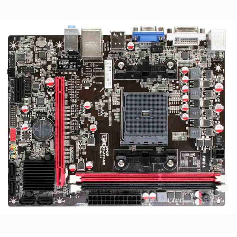 Original computer motherboards for Colorful C.A58T all solid V17 motherboard FM2