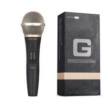 G-MARK G77 профессиональный сценический для певца Vocal проводной микрофон динамический микрофон для видео запись пения под караоке система KTV