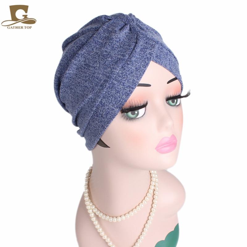 Frauen Baumwolle Motorhaube Kopfbedeckungen Turban Unbegrenzte 100% - Bekleidungszubehör - Foto 1