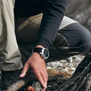 Image 5 - 2019 nowych mężczyzna zegarek do nurkowania cyfrowy zegarek wojskowy led wodoodporny 50M nurkowanie pływanie Sport zegarki zegarek kompas wysokościomierz