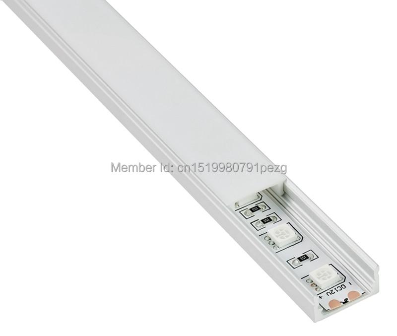 100 X 1M dəstləri / Lot Yaxşı keyfiyyətli alüminium profil - LED işıqlandırma - Fotoqrafiya 5