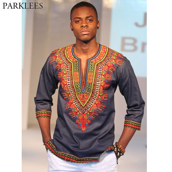 2018 New Fashion African Dashiki Print V Neck T Shirt Men Short Sleeve Casual Tee Shirt Homme Hip Hop Streetwear T-shirt Male mardi gras princess new orleans nola bouron street party costume womens t shirt short sleeve o neck t shirt homme top tee