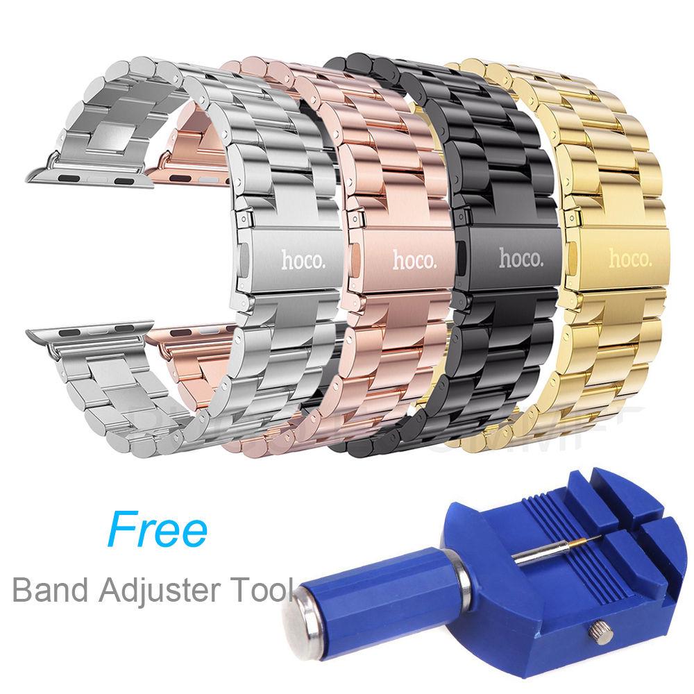 Prix pour D'origine HOCO 316L Bracelet En Acier Inoxydable Pour Apple Watch Série 2 Classique Boucle Bracelet Pour Apple Watch iWatch Montre Bande