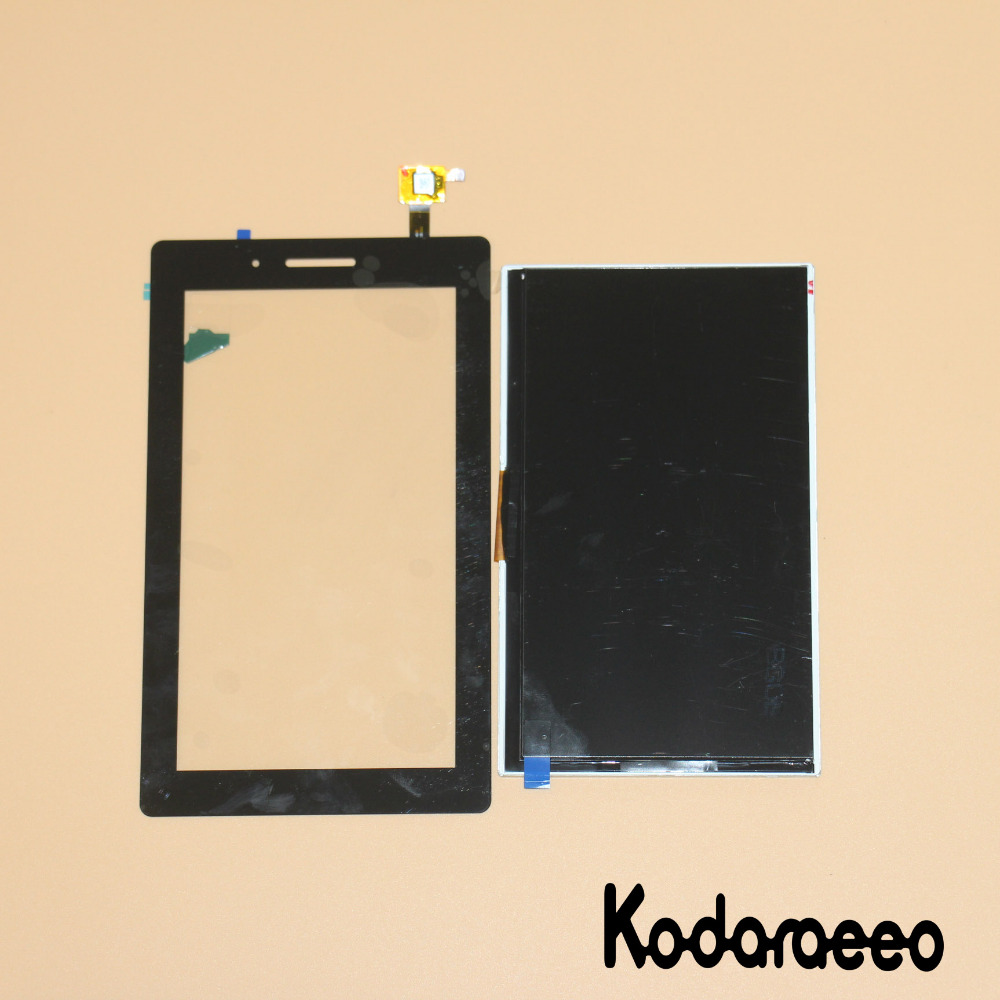 kodaraeeo For Lenovo Tab 3 7.0 710 Essential Tab3 TB3 710F 710L 710i Touch Screen Digitizer Glass+LCD Display Panel Replacement 7inch lcd display with touch screen digitizer for lenovo tab 3 7 0 710 essential tab3 710 tb3 710l tb3 710i tb3 710f lcd display