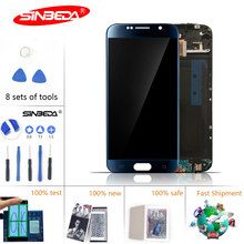 5.1 100% New Super AMOLED For Samsung Galaxy S6 LCD Display Touch Screen Digitizer Replacement G920F G920A for