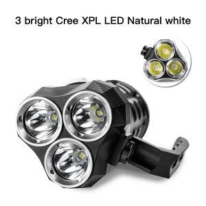 Image 3 - Sofirn SD01 צלילה פנס 3 * Cree XPL 3000LM LED אור מתחת למים זרקור 18650 עוצמה צלילה אור LED פנס
