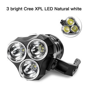 Image 3 - Sofirn SD01 Scuba Diving Flashlight 3* Cree XPL 3000LM LED Light Underwater Searchlight 18650 Powerful Dive Light LED Flashlight