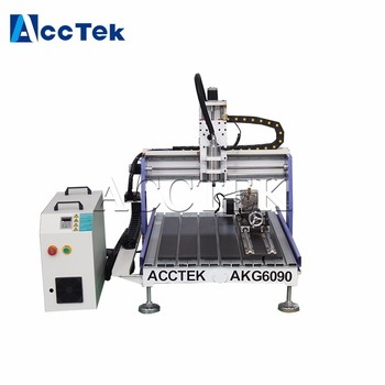 kit cnc/CNC router AKG6090/engraver/wood router/cnc cutter 1.5KW with T slot table water cooled spindle cnc 6090