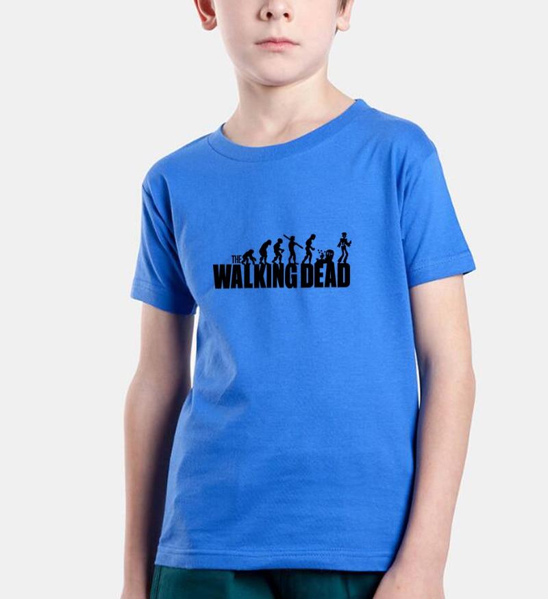 the walking dead print 2017 summer boys t shirts new fashion baby boy clothes brand kids t-shirts casual children short sleeve boy