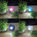4 Colors LED Toilet Nightlight Double Motion And Light sensor Sensitive Dusk to Dawn Battery-operated Lamp lamparas lamp