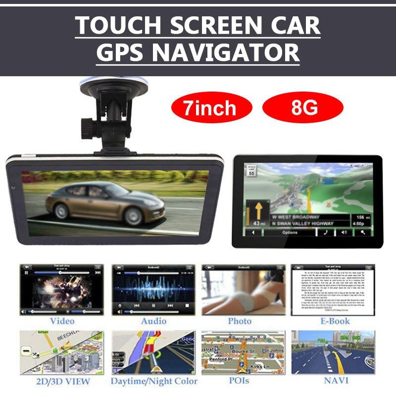 Навигатор для грузовиков 8 Гб умный gps для автомобиля навигация аудио gps навигатор Премиум 800 МГц