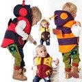 Desenhos animados outono inverno crianças colete bebê 'winter / hoodies outwear colete infantil de meninas colete crianças colete