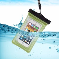 Gym Waist Bag Waterproof Mobile Phone Bags Universal Phone Case Clear Pouch For Iphone 7 7Plus