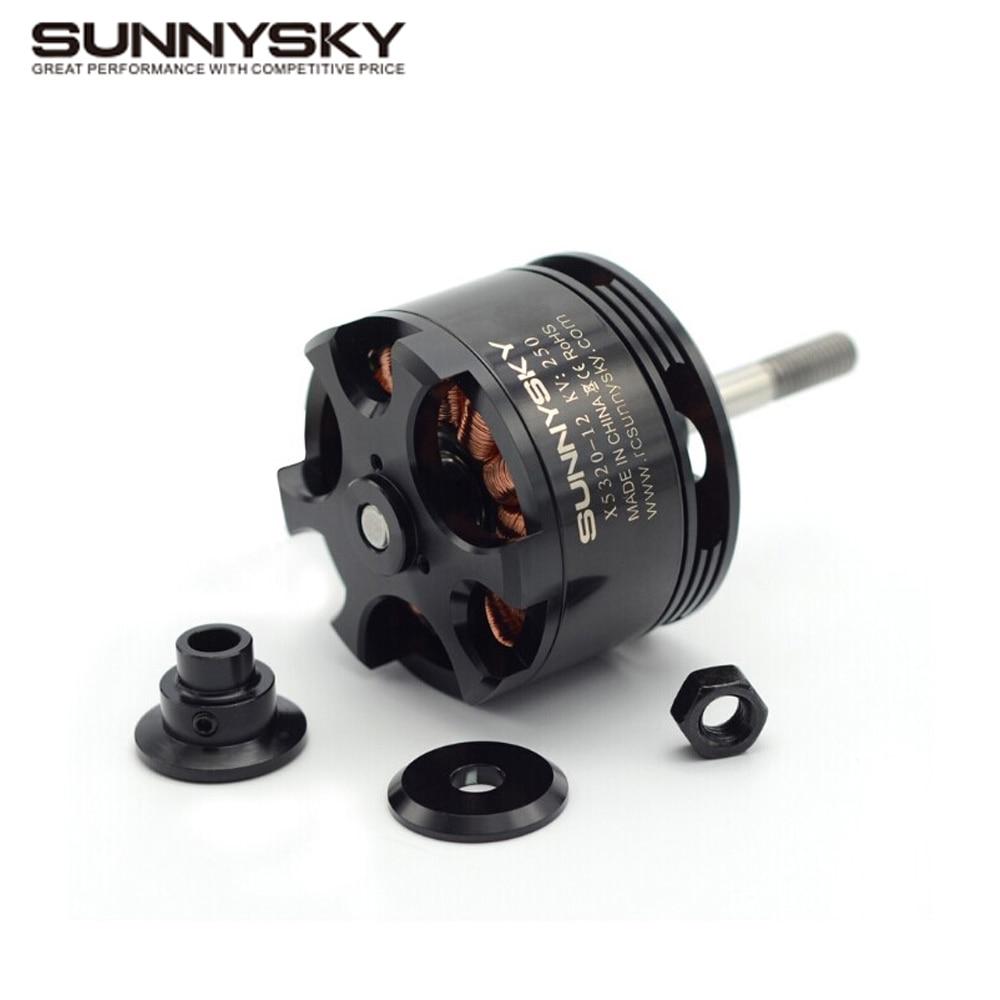 1pcs original SunnySky X5320 210KV/250KV/370KV high effectiveness brushless motor for 3D stunt Drone team effectiveness