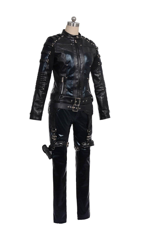 Green Arrow Season 4 Cosplay Costume for  women Black Canary cosplay costume