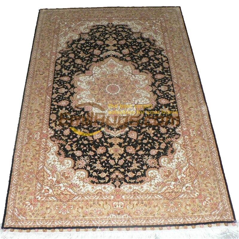 Laine ou soie persan grand Style Vintage décor à la maison pour salon laine tapis tapis tapis traditionnel - 5