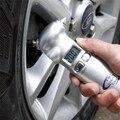 4 en 1 Coche Herramienta Esencial LCD Digital Car Auto Tire Medidor de Presión de Neumáticos Gauge Cortador de Cinturón de seguridad Martillo De Emergencia Linterna Antorcha