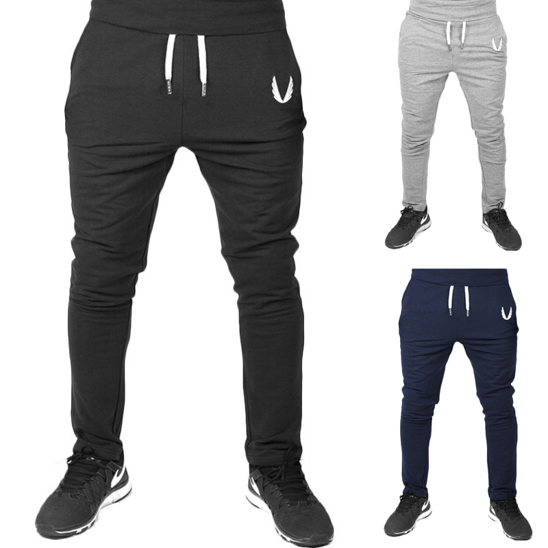 Four Seasons Men's Sports Pants  Gym Fitness Sports Jogging Sports Pants / Men's Casual Cotton Pencil Pants 13